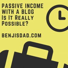 Passive Income with a Blog