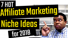 affiliate marketing niche ideas for 2018